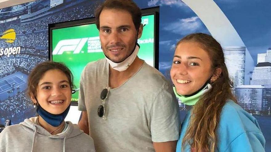 De jugar a tenis en la azotea de sus casas a conocer a Rafa Nadal en Manacor