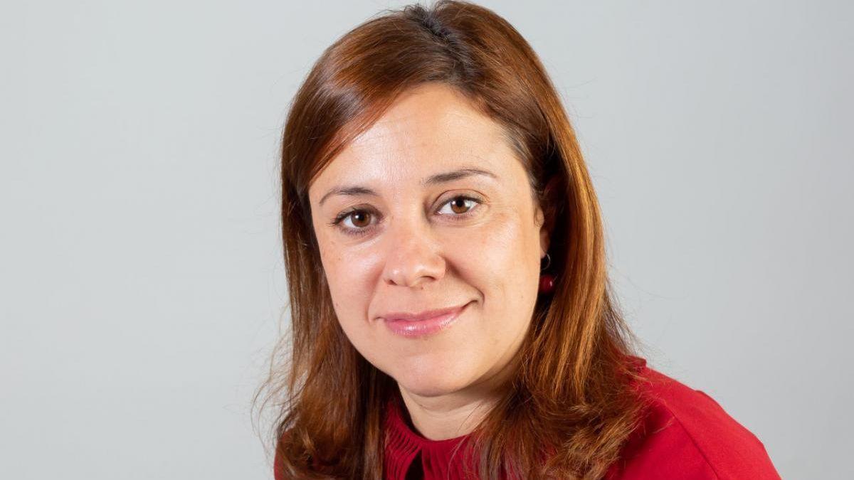 La alcaldesa de Hervás, Patricia Valle.