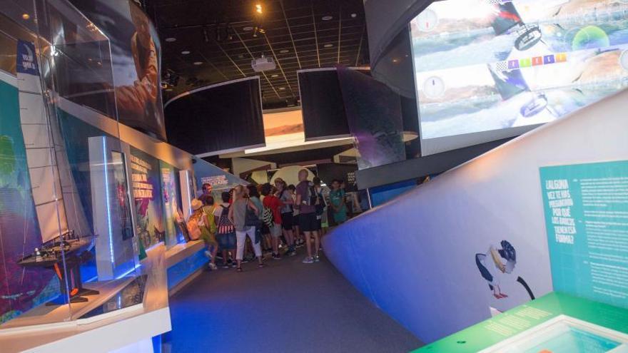 Crecen un 39% los visitantes del Museo de la Volvo Ocean Race en Alicante