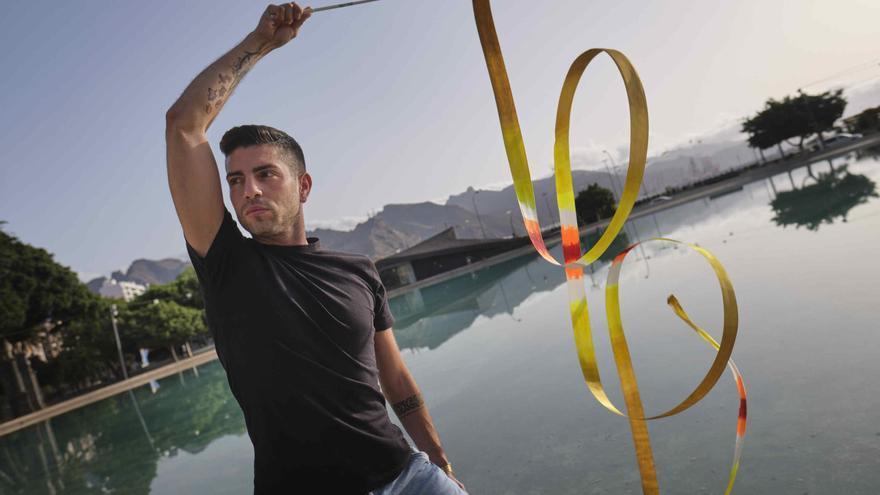 Cristofer Benítez, el gimnasta tinerfeño víctima de un ataque sexista