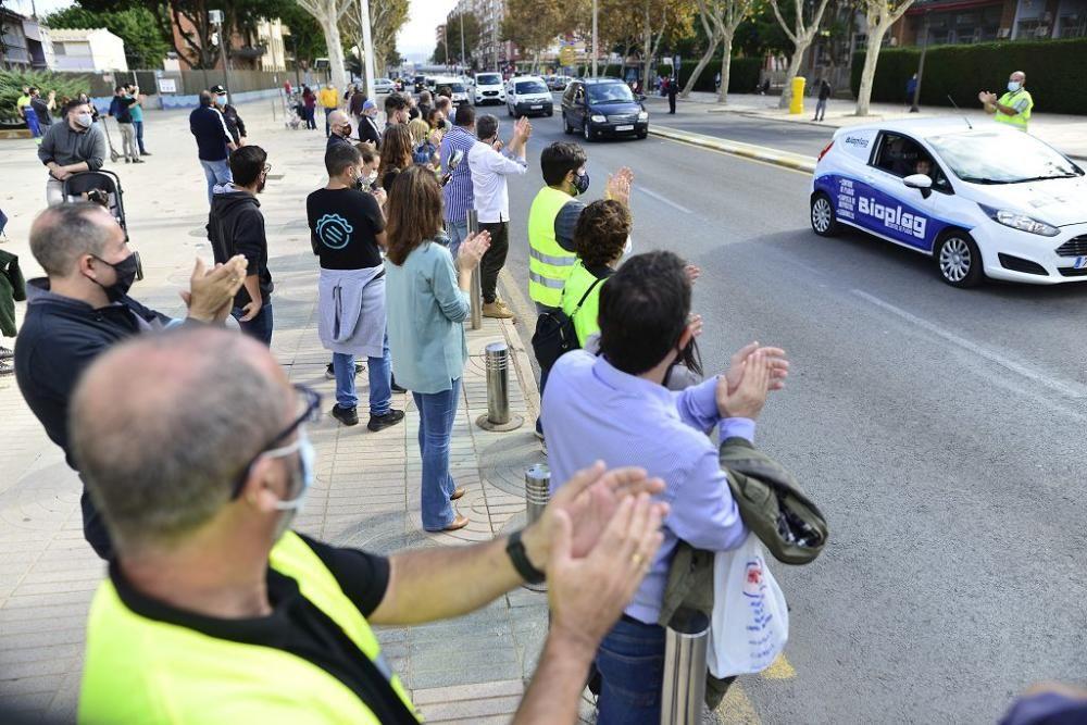 Protesta por el cierre de bares y restaurantes en Cartagena