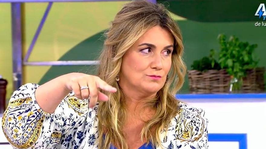 Agreden a Carlota Corredera poco antes de que empezara a presentar Sálvame