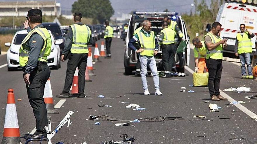 El juicio por el atropello de los ciclistas de Xàbia se celebrará en noviembre