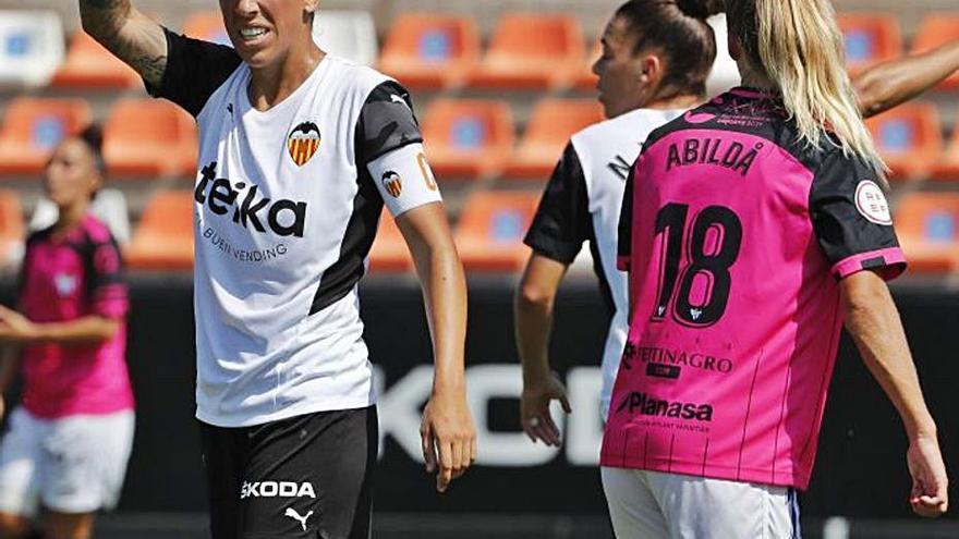 Al Valencia Femenino se le escapan dos puntos al final