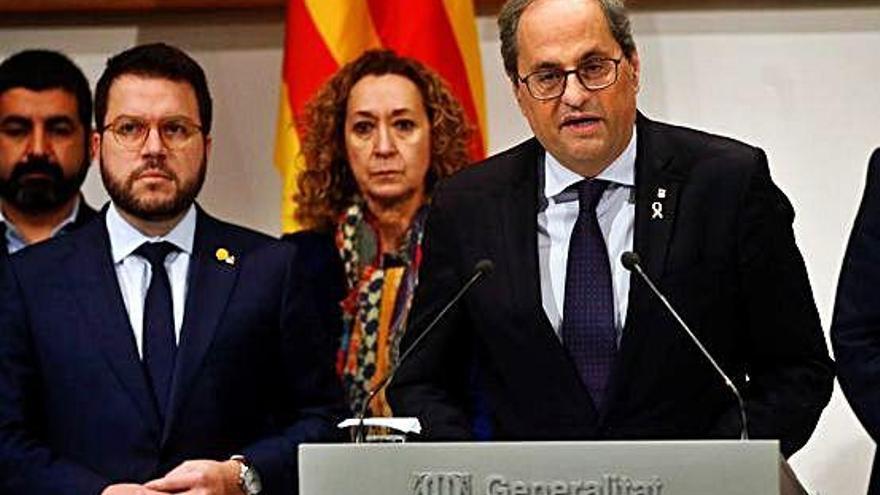 La Junta Electoral retira l'acta de diputat a Torra i nomena Ferran Mascarell