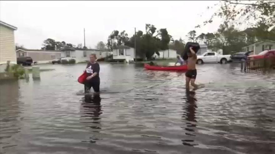 Las víctimas por el huracán Florence aumentan a 18