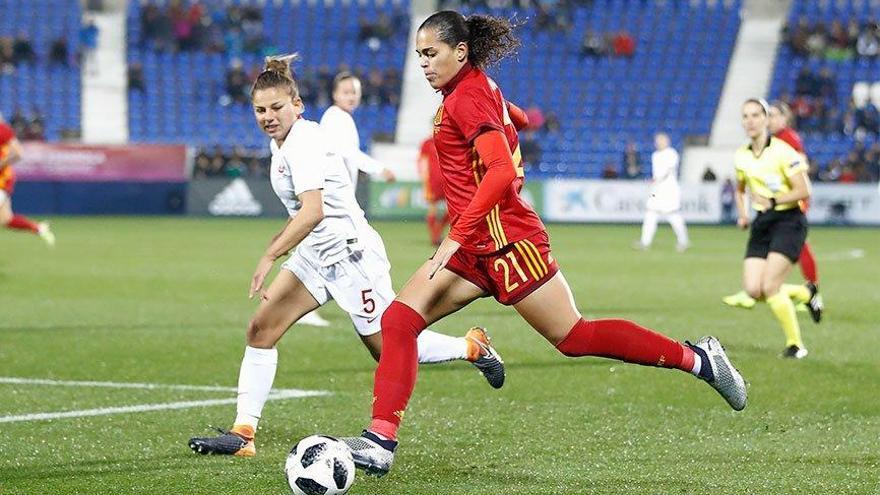 La aruquense Andrea Falcón, al Mundial de Francia