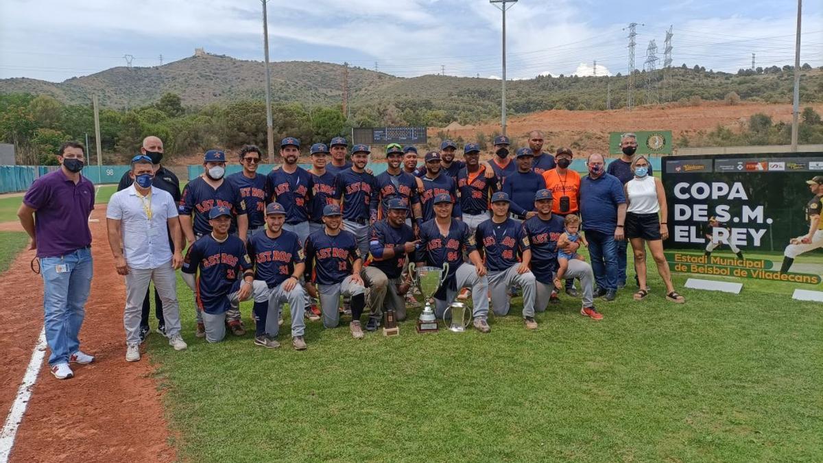 El Astros Valencia, campeón de la Copa del Rey de Béisbol
