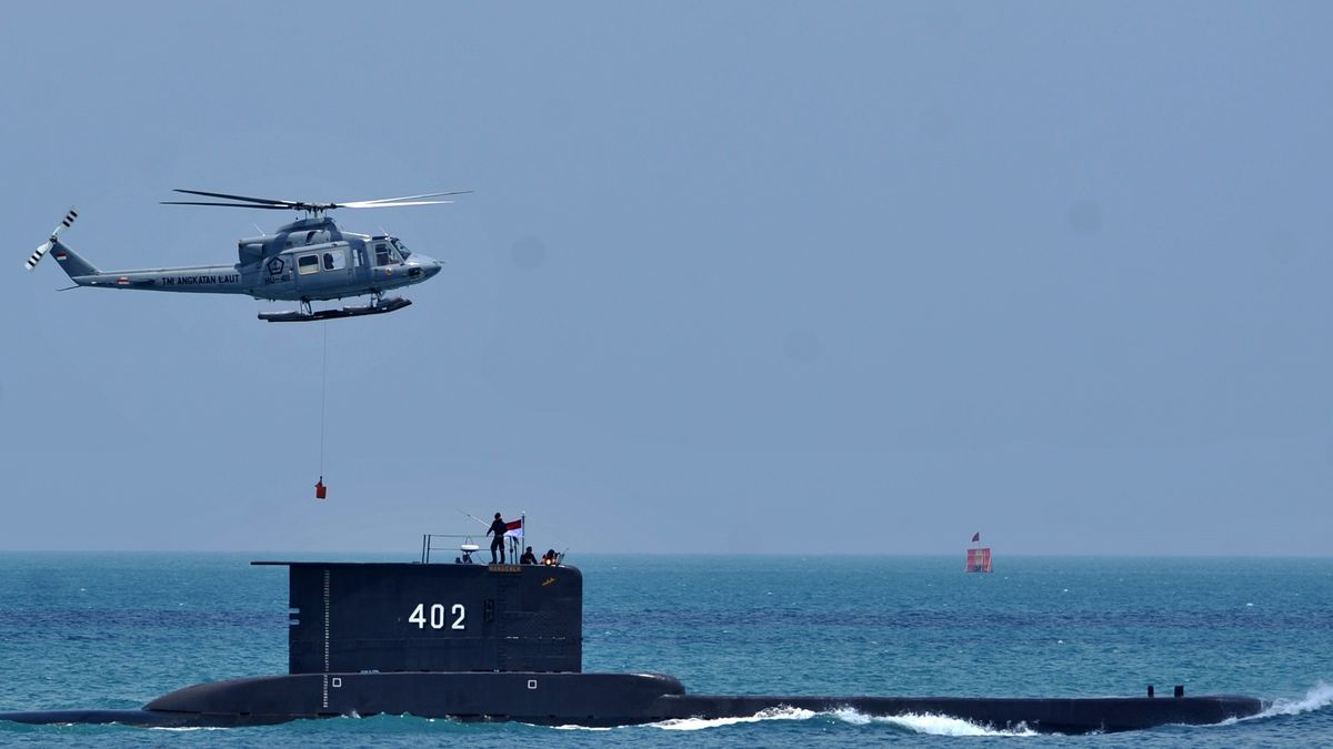 El submarino indonesio KRI Nanggala 402.