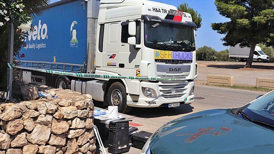 Investigan el fallecimiento de un camionero que paró a descansar en la A3