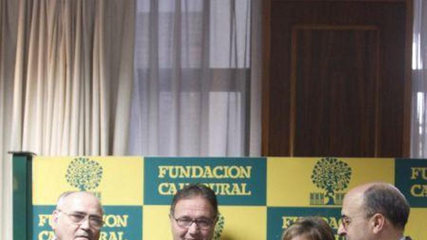 Honorato Domínguez, Juan J. Domínguez, Conchi Rodrigo y Feliciano Ferrero.