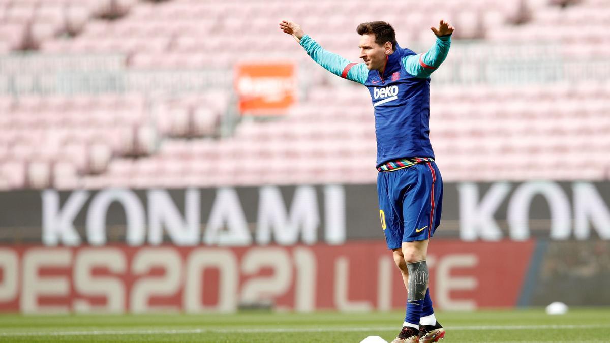 Leo Messi, en una imatge d'arxiu