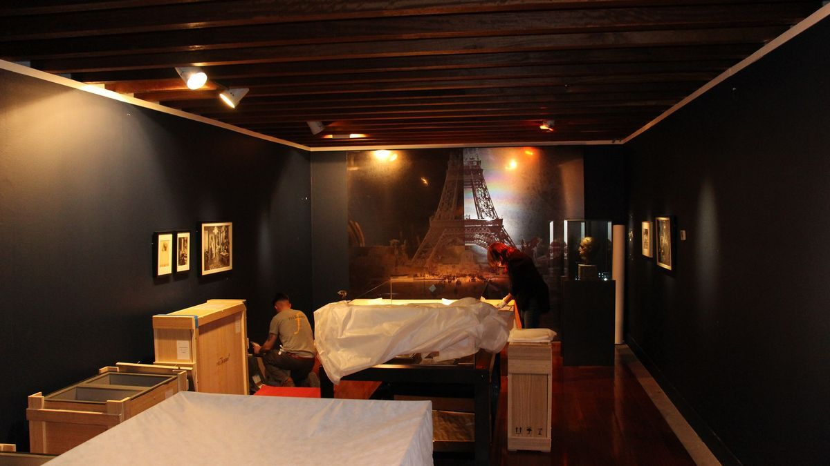 Disassembly of the exhibition & # 039; The Human Truth & # 039;