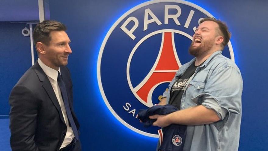 Ibai reúne a 300.000 personas en Twich con Messi en París