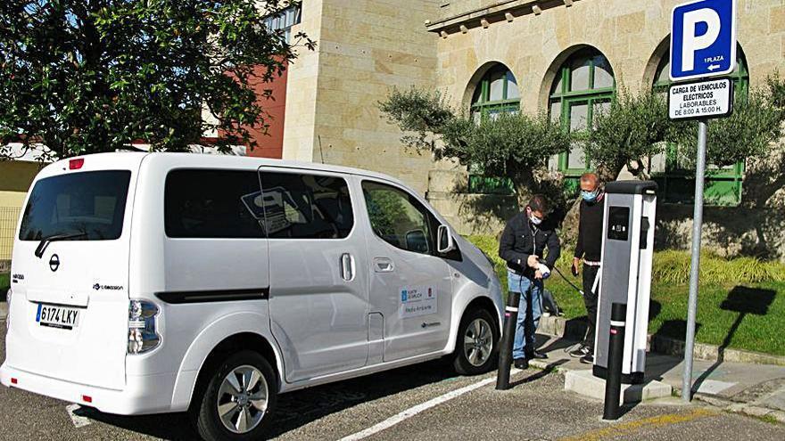 El Concello de Nigrán ya tiene dos vehículos eléctricos