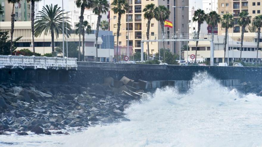 El Cabildo asegura que el socavón de la Avenida no afecta a la calzada