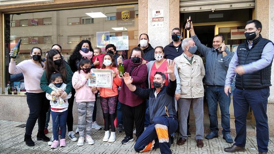 Dos millones de euros del Gordo para 15 amigos de Badajoz
