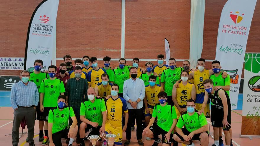 ADC y Miralvalle se llevan el Trofeo Diputaciones de Cáceres y Badajoz