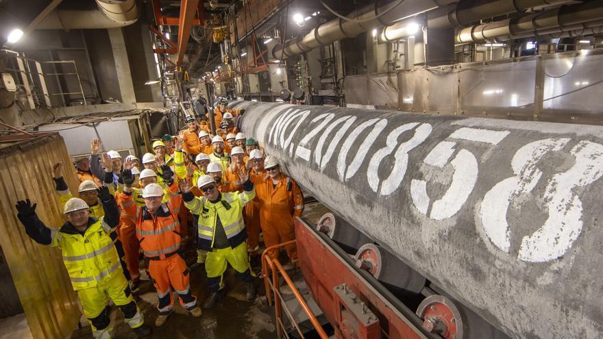 Rusia llena la primera tubería del gasoducto Nord Stream 2