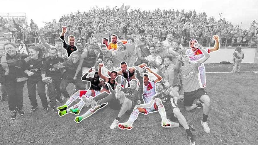 Las leyendas del Mallorca desde la Segunda B
