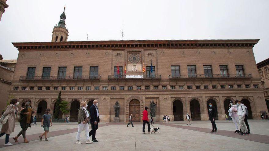 Los funcionarios de Zaragoza se quedan sin horas libres para el Pilar
