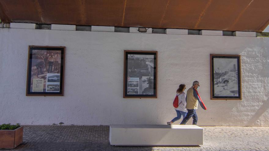 Benidorm y su relación con el agua en una exposición de fotografías al aire libre