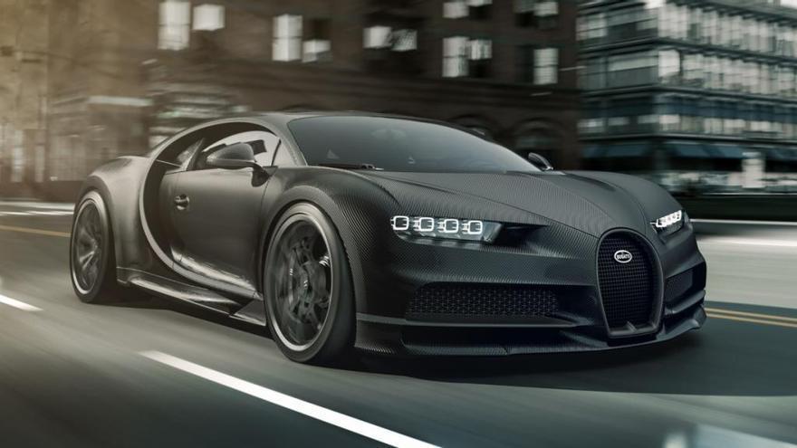 Nuevos Bugatti Chiron Noire 2020, una edición especial limitada a 20 unidades