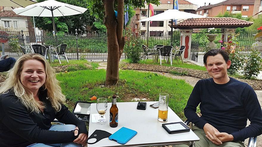 Los peregrinos reactivan el turismo en Grado, que prevé una buena temporada de verano