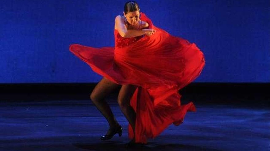 Sara Baras traerá en febrero a Galicia su nuevo espectáculo