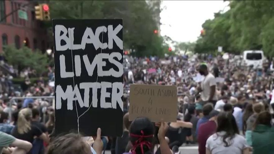 Se reduce el nivel de violencia en las protestas de EEUU