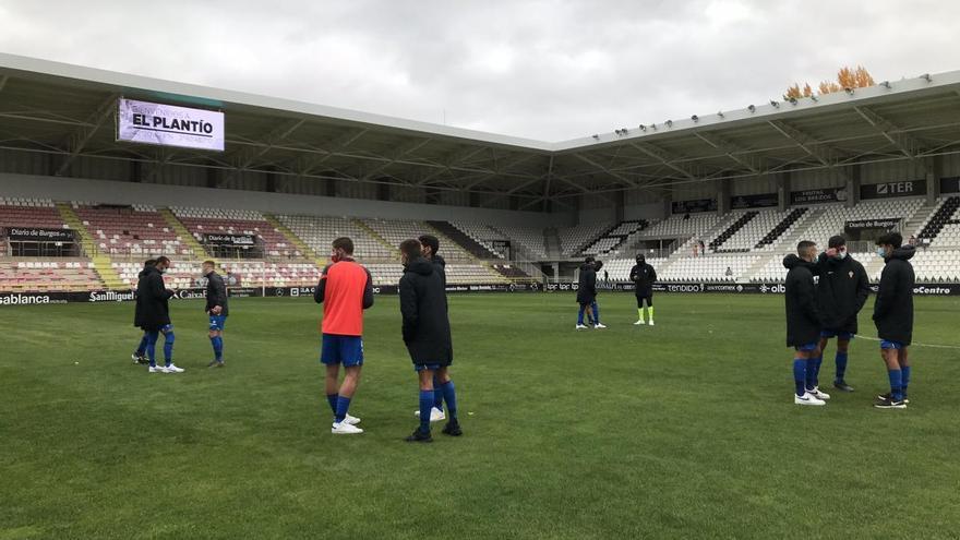 El Sporting B cae derrotado en su visita al Burgos