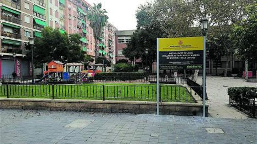 Nuevo parque inclusivo en Aiora