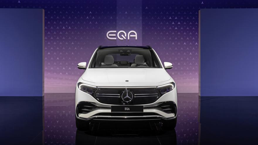 El nuevo Mercedes EQA llega a València