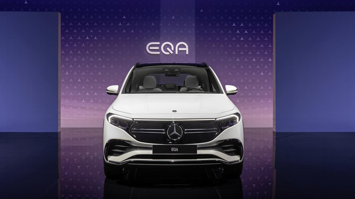 El Mercedes EQA, un SUV deportivo y 100% eléctrico