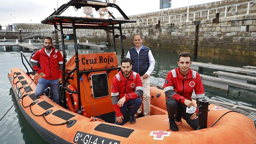 Cruz Roja del Mar cumple medio siglo de rescates