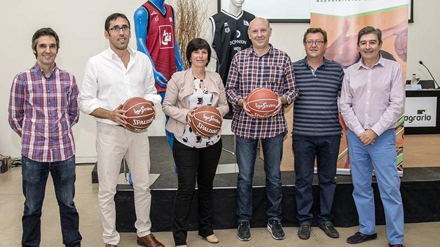 Presentado el III Trofeo Twinner que medirá al CAI Zaragoza y al Dominion Bilbao Basket