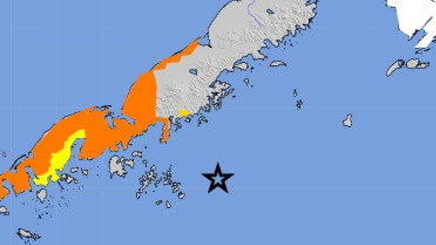 EEUU alerta a Alaska de un tsunami tras un terremoto de magnitud 7,8