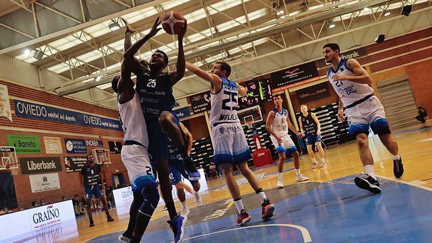 Un partido que vale doble: así llega el Liberbank Oviedo Baloncesto al duelo de esta tarde ante el Melilla