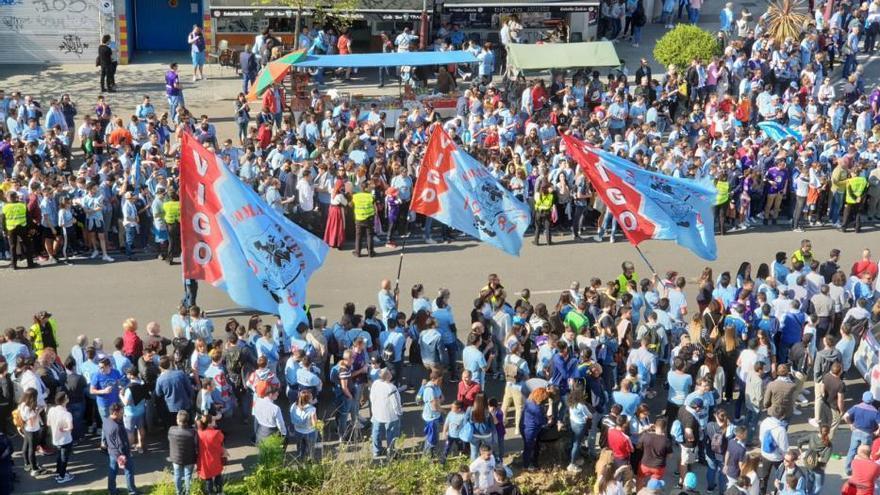 Celta - Villarreal   Una marea celeste recibe al equipo en Balaídos