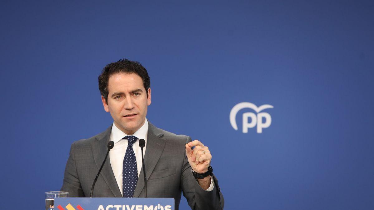 """Egea dice que el paso de miembros de otros partidos al PP no es """"transfugismo"""" sino """"amor a España"""""""