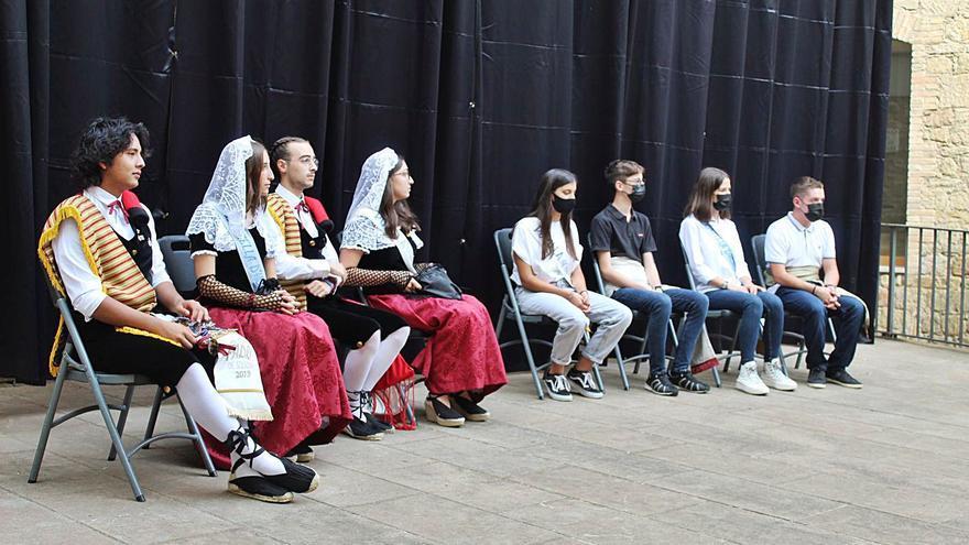 El pubillatge solsoní es renova dos anys després en el marc de la festa major