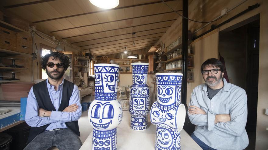 Albert Pinya y Català Roig se inspiran en el tándem Miró-Artigas en su primer proyecto juntos