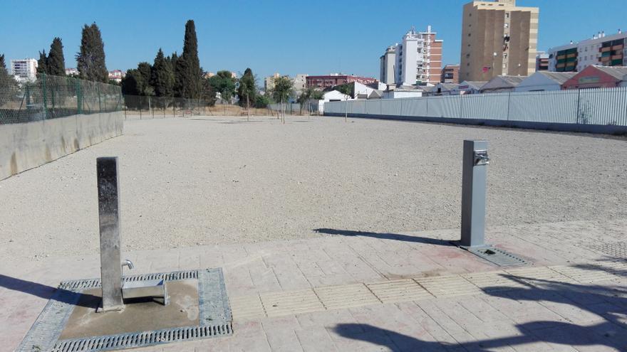 Málaga impulsa un nuevo parque canino en la zona de Guadalmar