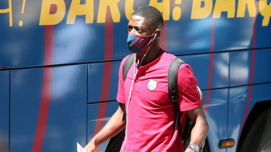 Quique Setién:  «Dembélé podria tenir alguns minuts»