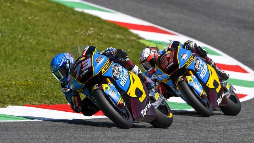 Triomf sòlid d'Alex Márquez a Moto2