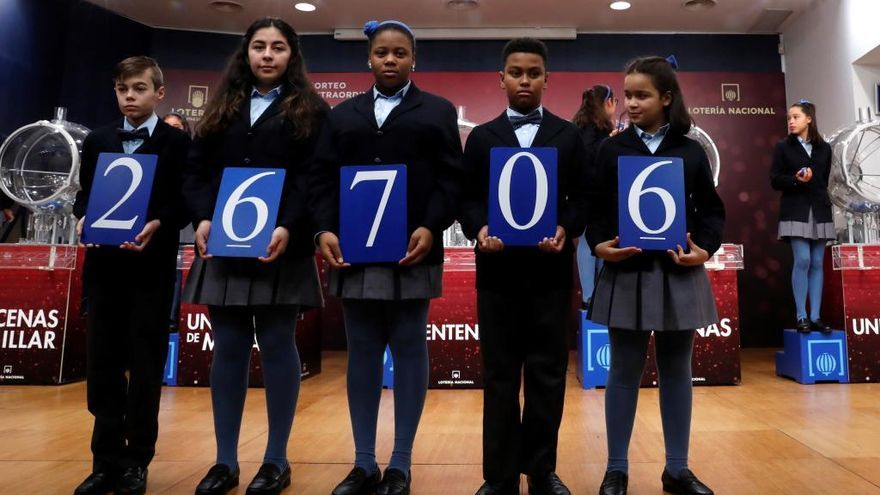 El 26706, el tercer premio de la Lotería del Niño