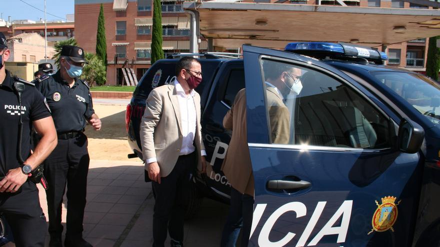 Renuevan la flota de coches de la Policía Local de Lorca