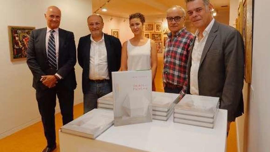 "Mar Vicente muestra ""Object and Painting"" en Vigo"