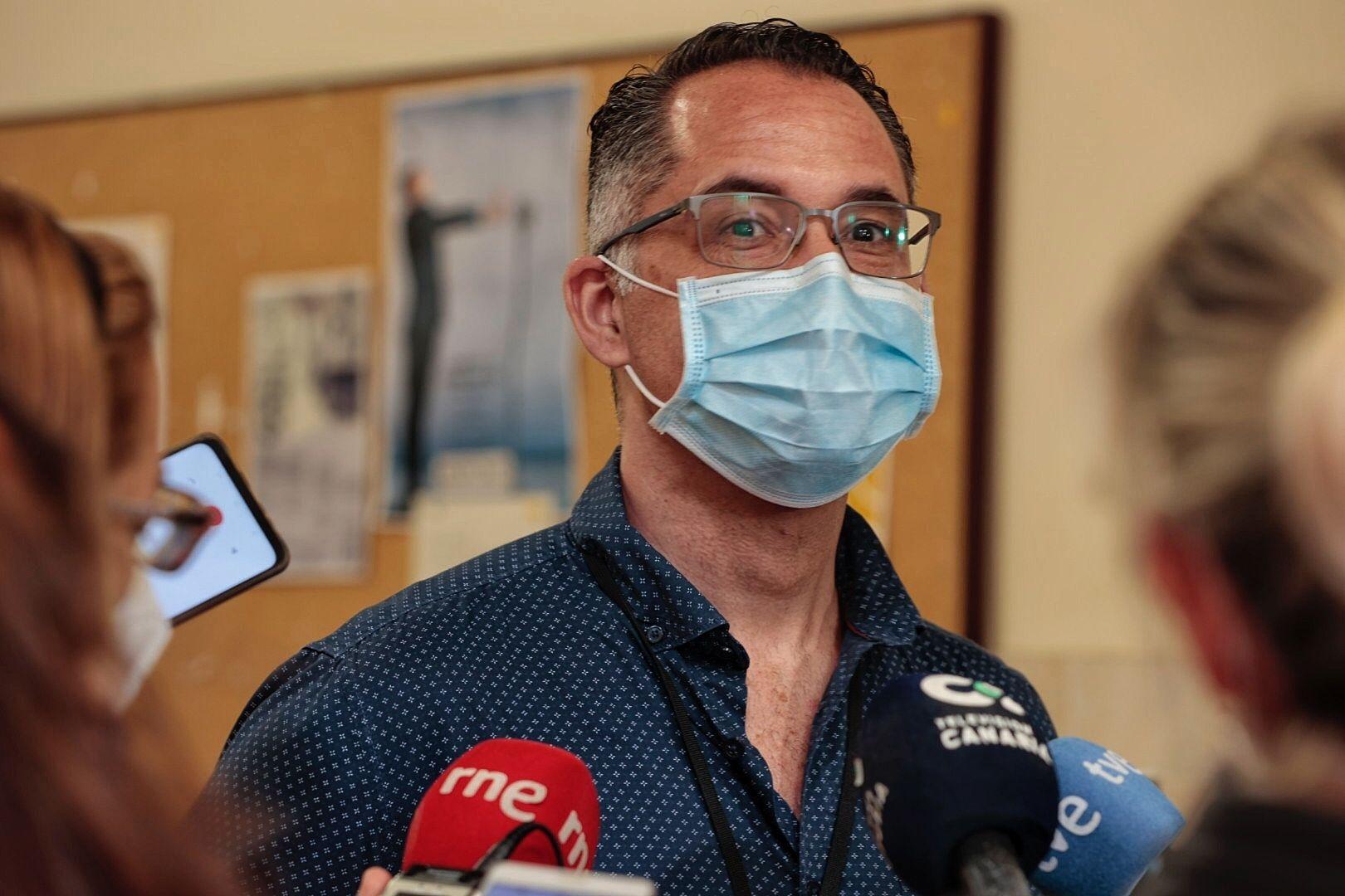 Apertura punto de vacunación masivo en Guajara