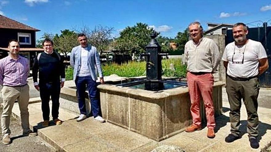 El Concello de Caldas finaliza el proyecto de restauración de la Fonte dos Catro Canos en Tivo